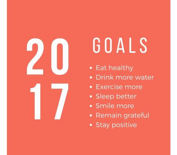 2017 Goals and New Year Resolution