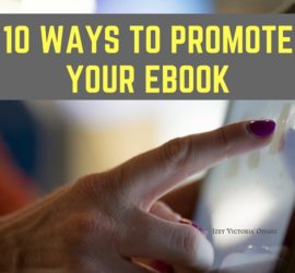 Ways to promote your eBook
