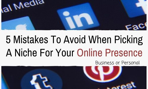 Niche For Your Online Presence - Izey Victoria Odiase