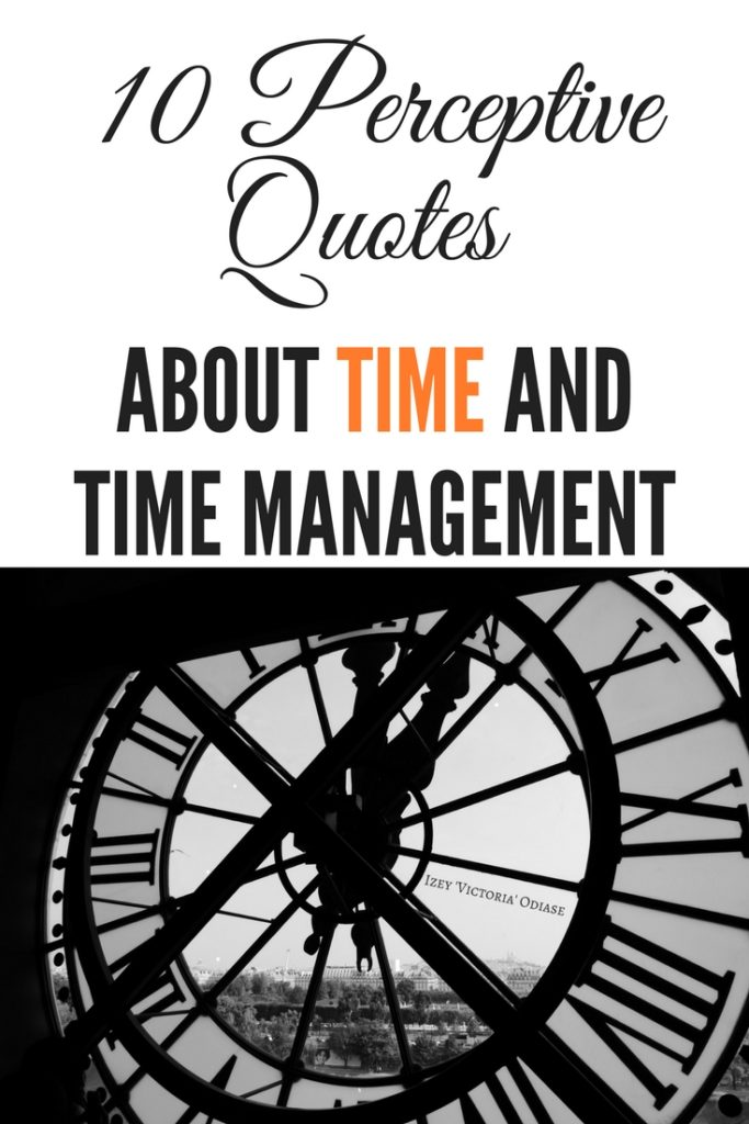 10 Perceptive Quotes About Time and Time Management