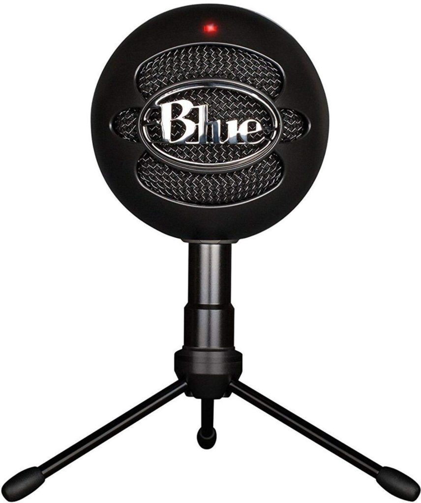Blue Snowball iCE Condenser YouTube Microphone, Cardioid - Black