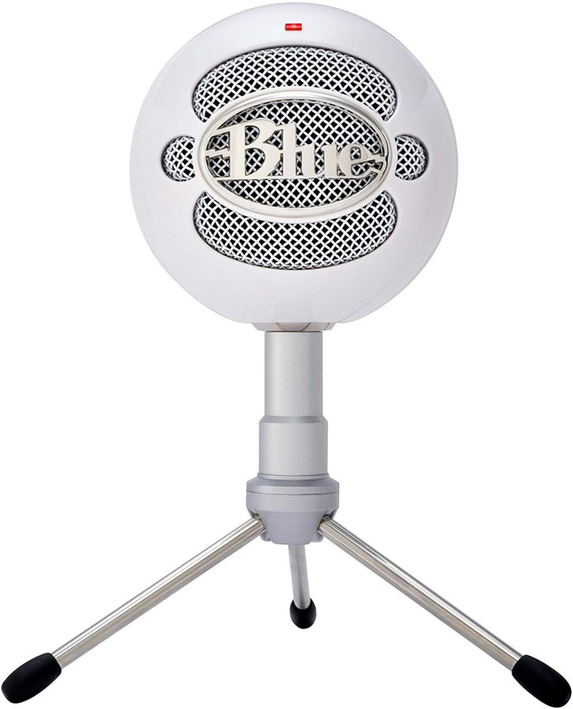 Blue Snowball iCE Condenser Microphone, Cardioid - White - 1974