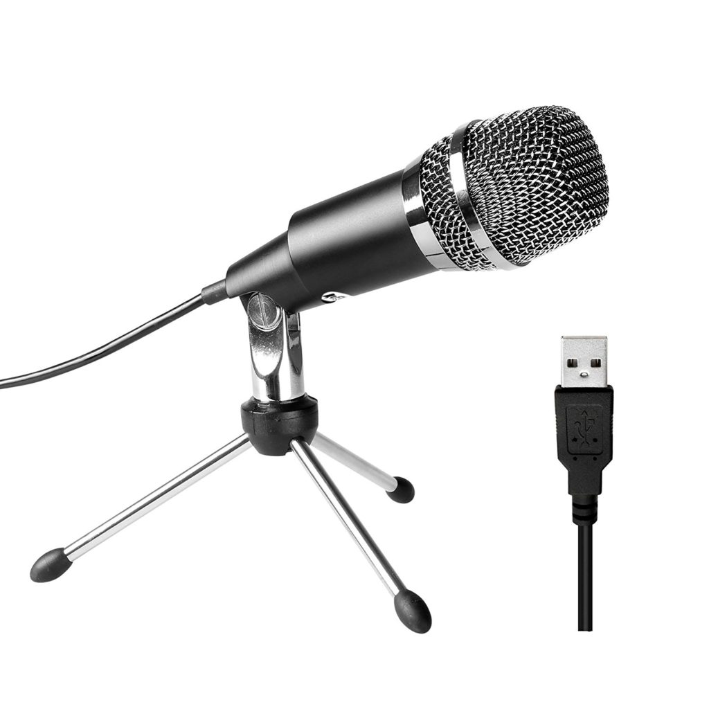FIFINE TECHNOLOGY USB Microphone for YouTube, Skype, Google Voice Search, Games