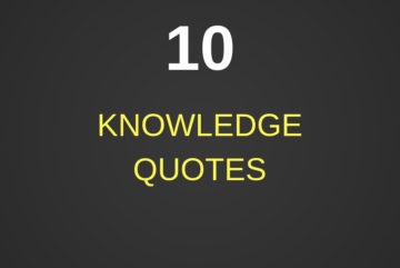 10 Knowledge Quotes - Izey Victoria Odiase